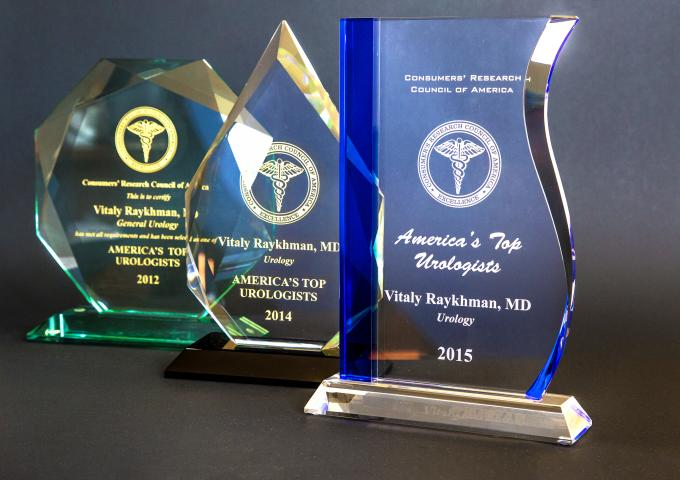 Americas Top Urologists 2009 - 2017 Awards