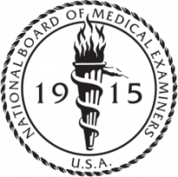 Diplomat of the National Board of Medical Examiners